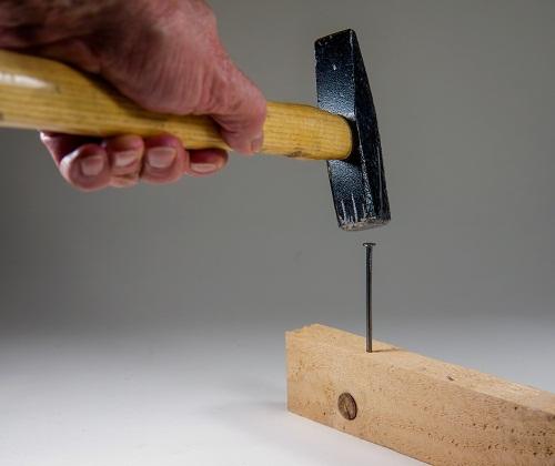 Hammer in Aktion