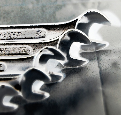 Ein paar Schraubschlüssel
