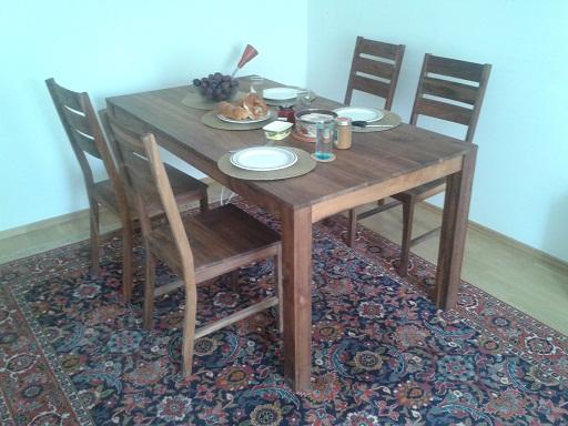 massivholz esszimmertische. Black Bedroom Furniture Sets. Home Design Ideas