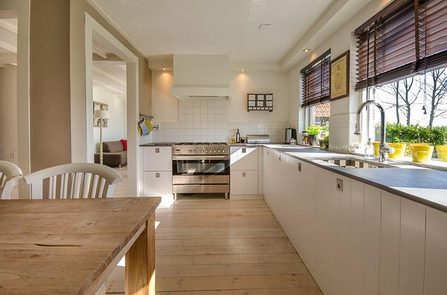 modern Küche auf einer Küchenshow