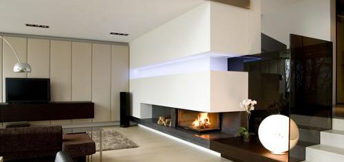 Moderne Wohnräume und ihre Einrichtungselemente