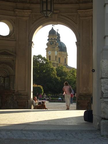 München - Innenstadt: Hofgarten