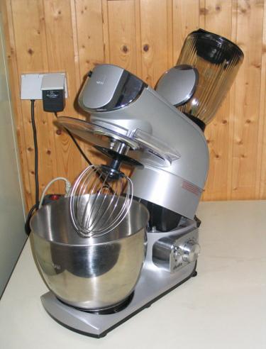 Universelle Küchenmaschine für viele Anwendungszwecke