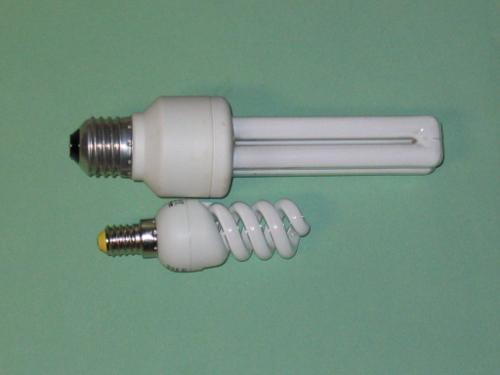 Moderne Leuchtmittel