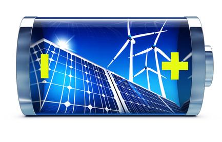 Batterien für die Energiespeicherung