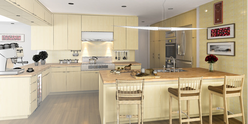 Modernes Küchendesign ist Teil vom Lebensstil Bild: © arsdigital - Fotolia.com