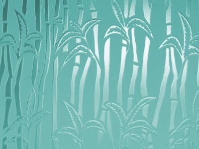 "Bild 2: ""Palmenstruktur im Glas"""