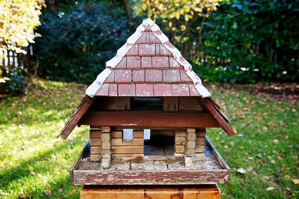 selbstgebautes Vogelhaus