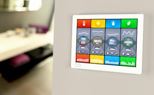 Bild 2: Mit der Technik im Smart-Home geht vieles leichter.