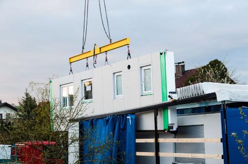 Bild 2: Kurze Bauzeiten helfen Geld sparen