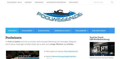 Swimming Pool selber bauen mit poolwissen.de