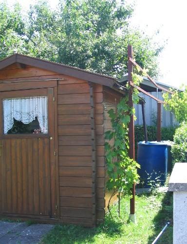 Bild 2. Gartenhaus als Geräteschuppen
