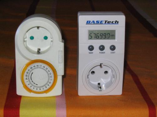 Bild 2: Einfache Geräte für die Überwachung vom Stromverbrauch