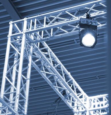 Bild 1: Der Messestand - Wichtiges Werbemittel für viele Bauunternehmer