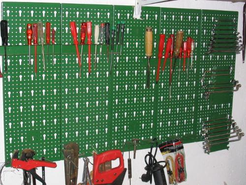 Werkzeuge immer griffbereit halten