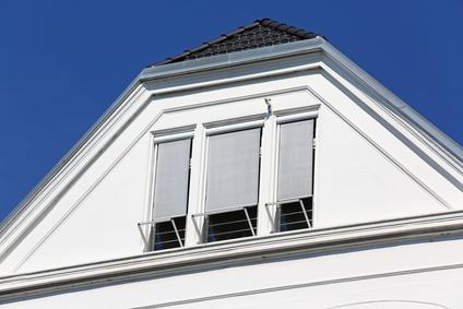 Bild 1: Sonnenschutz im Dachgeschoss