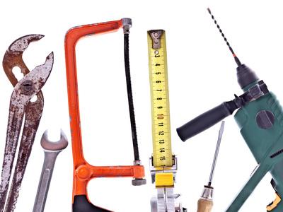 Bild 1: Kollektion verschiedener Werkzeuge