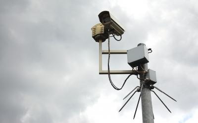 Bild 2. Überwachungskamera nach Vorschrift