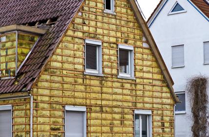 Bild 2: Außendämmung am Wohngebäude