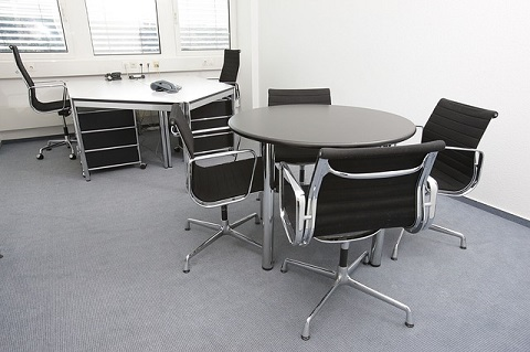 Büroräume sollten Komfort und Geräumigkeit bieten