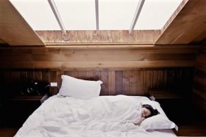 Gesund schlafen auf einer Wasserbettmatratze