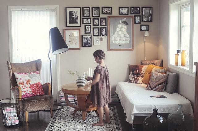 Wandgestaltung: Ideen für Küche und Wohnzimmer – Bauen und ...