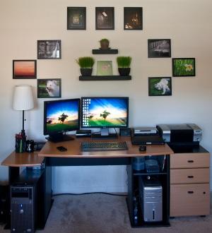 Arbeitszimmer gestalten: Eine gute Arbeitsatmosphäre zuhause schaffen