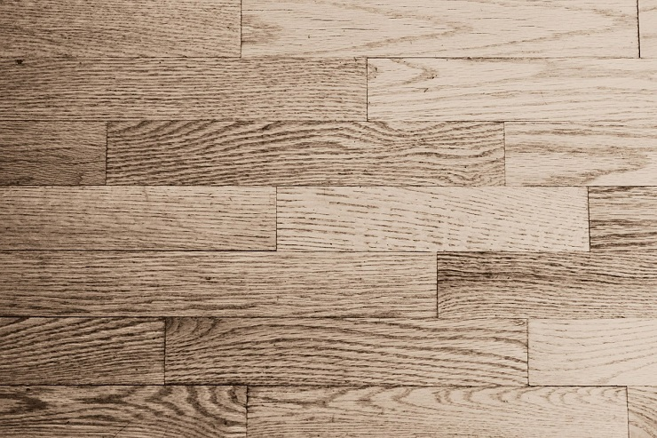 Fußboden aus Holz Nahaufnahme
